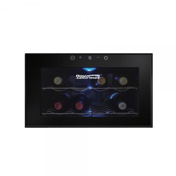 R. Gourmet Wine Cooler 22LT Stainless Shelves 518929-V001 by Royal Gourmet Corporation