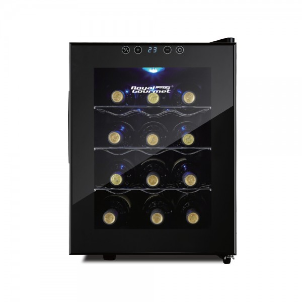 R. Gourmet Wine Cooler 1 Zone Stainless Shelves 518930-V001 by Royal Gourmet Corporation