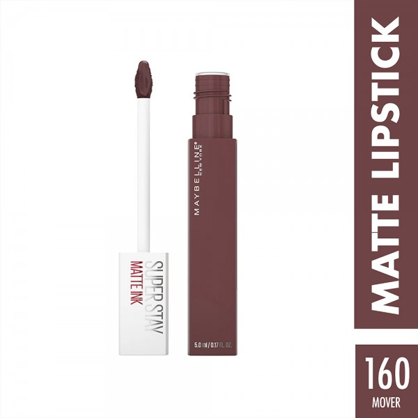 Maybelline Sstay Matte Ink Pink 160 Mover - 1Pc 519049-V001 by Maybelline
