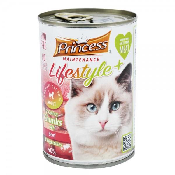 Princess Cat Beef+Veg Lifestyle - 405G 519236-V001