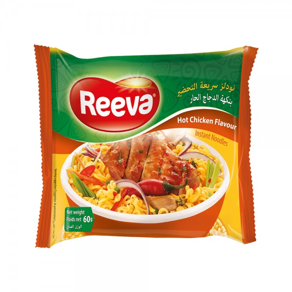 Reeva, Hot Chicken Noodles, 60G 519414-V001 by Reeva