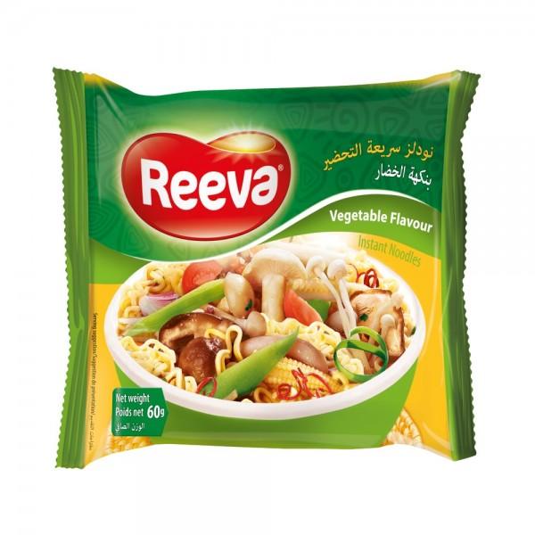 Reeva, Vegetable Noodles, 60g 519415-V001 by Reeva