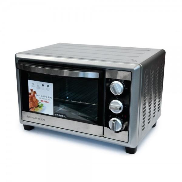Ariete Electric Oven Double Glass Slv - 20L 519523-V001 by Ariete