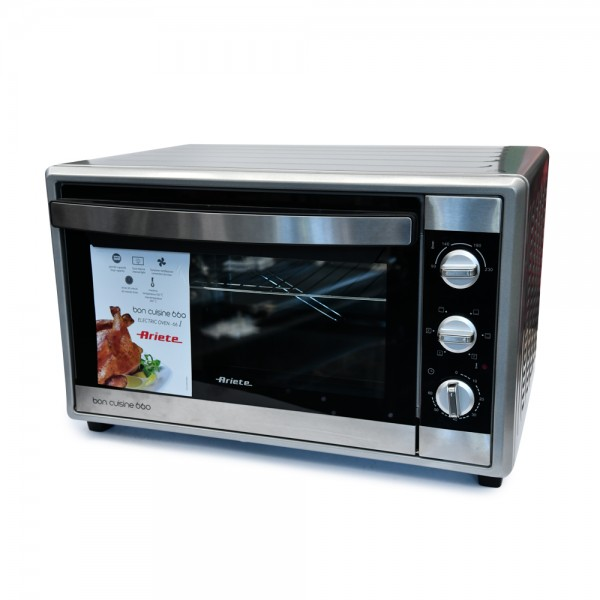 Ariete Electric Oven Convection Db Glass - 66L 519524-V001 by Ariete