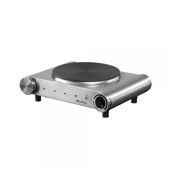 Ariete Hot Plate Single Stainless - 1500W 519539-V001 by Ariete