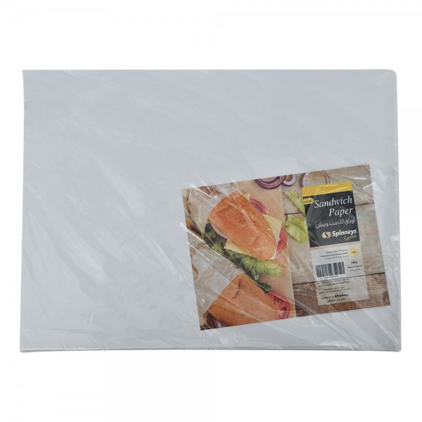 Spinneys Paper Sandwich Waxed 1Side - 500G 519569-V001 by Spinneys Essentials