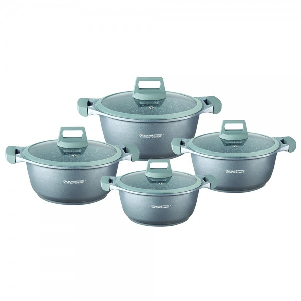 PRESTIGE GRANIT COOKWARE SET+SILICONE LID 519589-V001 by Royal Gourmet Corporation