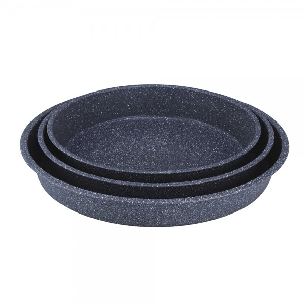 ROUND GRANIT TRAY SET 519593-V001 by Royal Gourmet Corporation