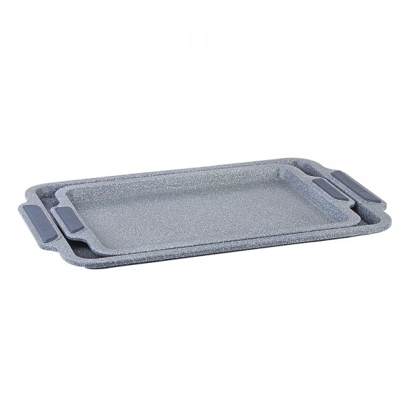 GRANIT COOKIE TRAY SET+SILICONE HANDLE 519595-V001 by Royal Gourmet Corporation