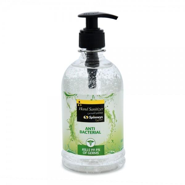 Spinneys Hand Gel Sanitizer 70 Pcent - 500Ml 519888-V001 by Spinneys Essentials