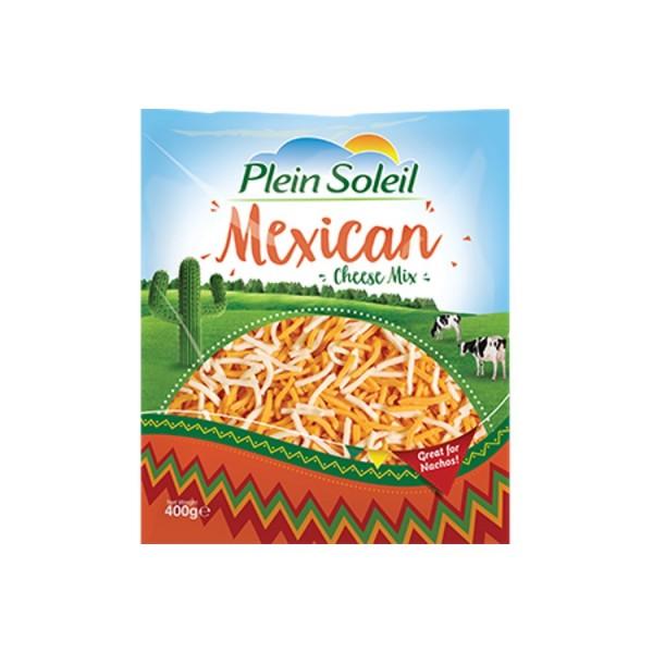 Plein Soleil Shredded Mexican Cheese 400g 519894-V001 by Plein Soleil