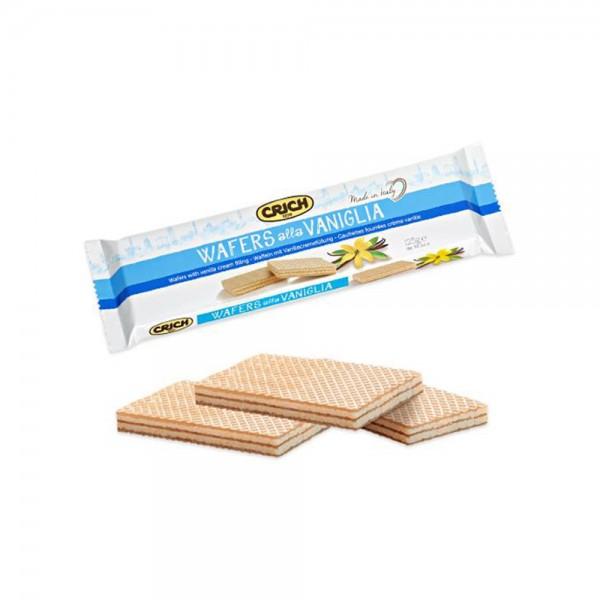 Crich Wafer Stick Vanilla 125g 520203-V001 by Crich