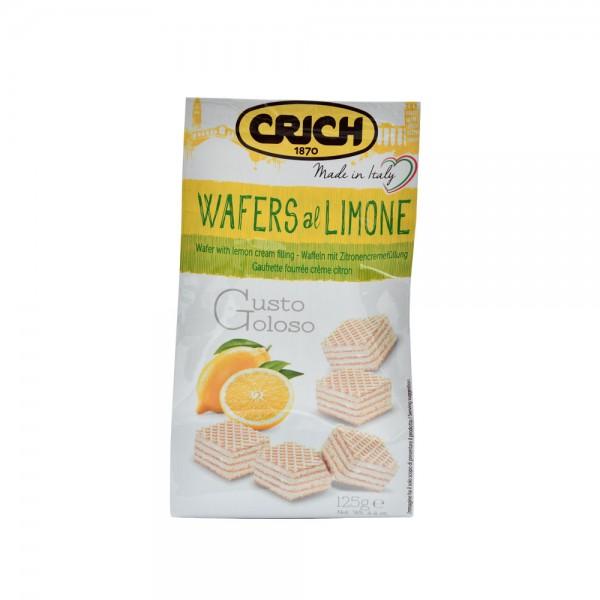 Crich Wafer Lemon Bag - 125G 520207-V001 by Crich