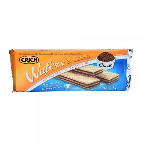 Crich Wafer Cocoa With No Add Sugar - 175G 520214-V001 by Crich