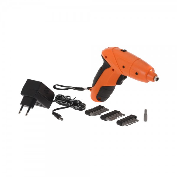 BATTERY DRILL WITH 18 BITS 520286-V001 by FX Tools