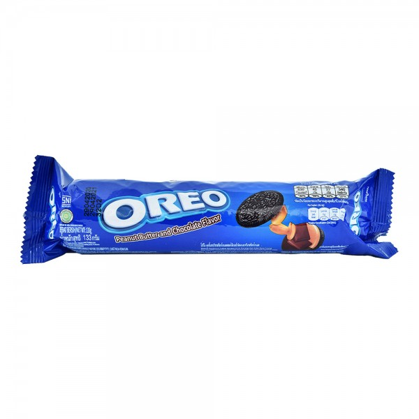 Oreo Tube Peanut Butter And Chocolate - 133G 520371-V001 by Nabisco