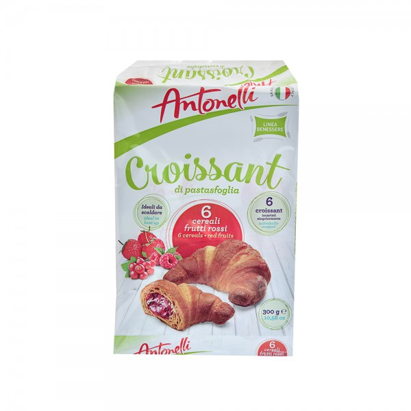 Antonelli Croissant Cereals Filled Red Fruits - 42G 520396-V001 by Antonelli