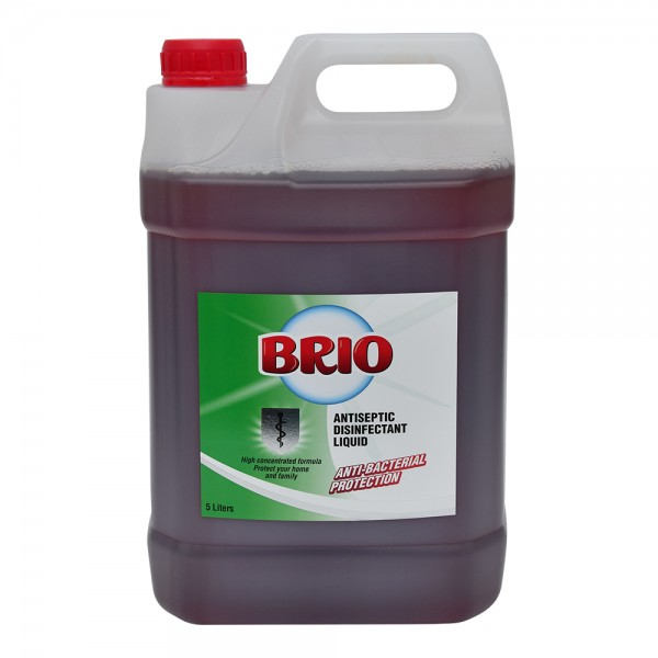 Brio Antiseptic Disinfectant - 5L 520399-V001 by Brio