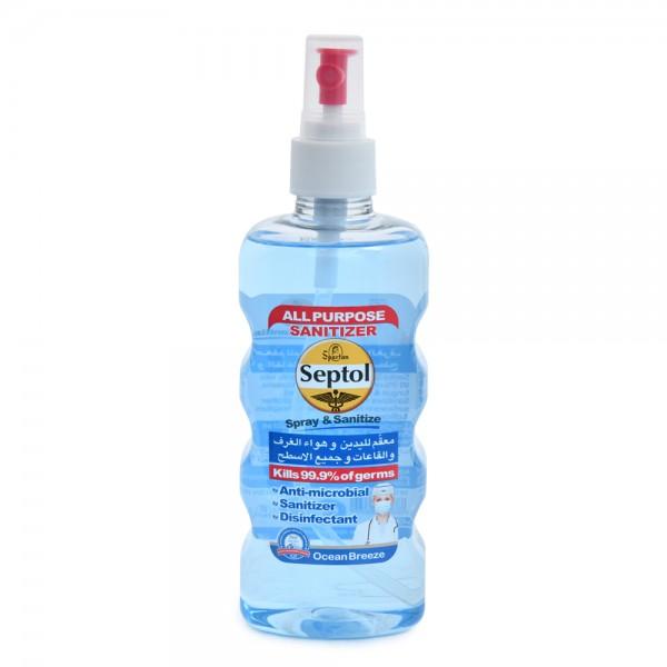 Septol Spray & Sanitizer Blue 400ml 520577-V001 by Septol