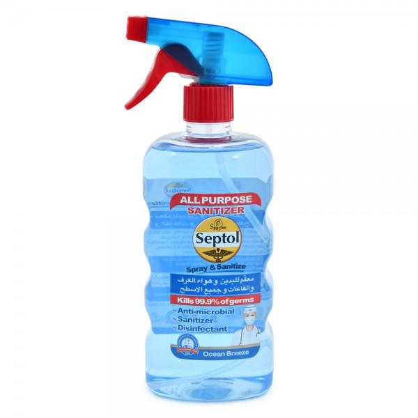 Septol Spray & Sanitizer Blue 750ml 520593-V001 by Septol