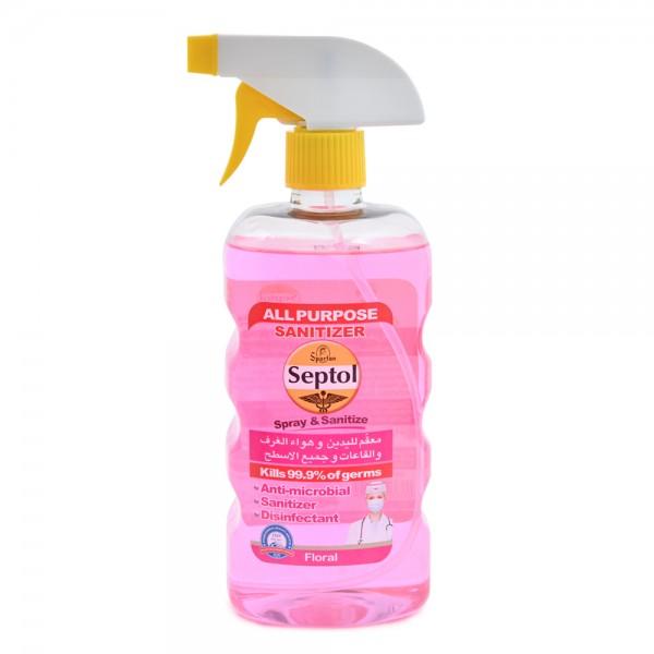 Septol Spray & Sanitizer Floral 750ml 520594-V001 by Septol