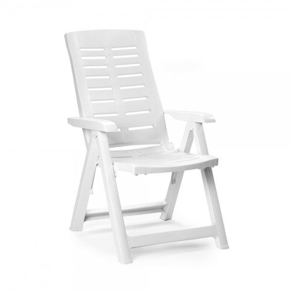 YUMA FOLDING CHAIR WHITE 520609-V001 by Pro Garden Collection