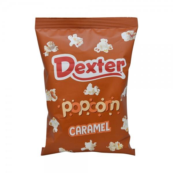 Dexter Pop Corn Caramel Med - 35G 520657-V001 by Dexter Snacks