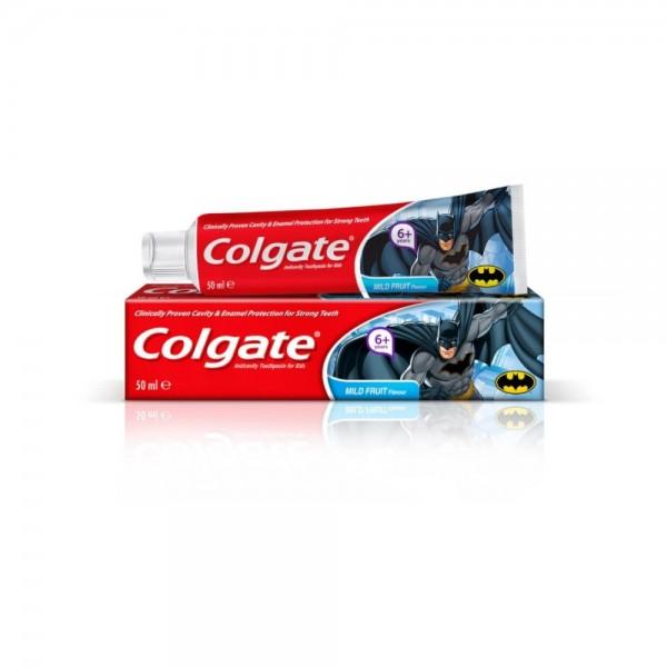 Colgate Kids Batman 6+ Tooth Paste 50ml 520717-V001 by Colgate