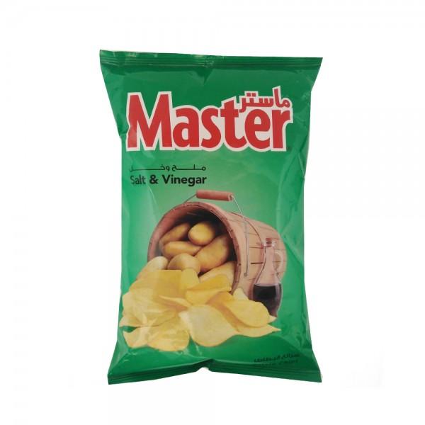 Master Chips Salt & Vinegar 80g 520920-V001 by Master Chips
