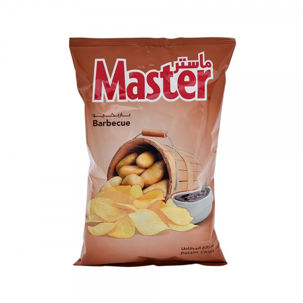 Master Chips Barbecue 80g 520921-V001 by Master Chips