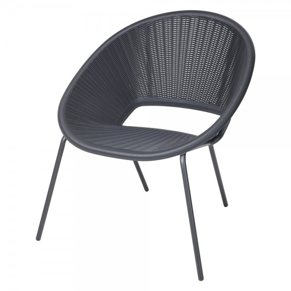 Stack Chair Metal Frame - 1Pc 520951-V001 by Home Collection