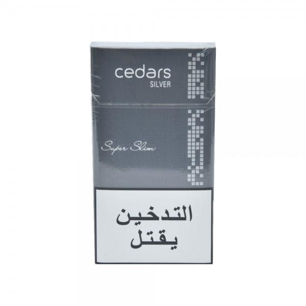 cedars Silver Super Slim 1 Pack 521368-V001 by Cedars