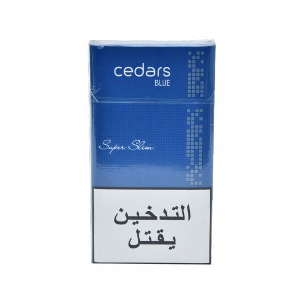 Cedars Blue Super Slim 1 Pack 521370-V001 by Cedars