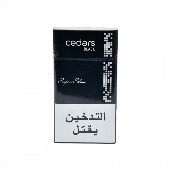 Cedars Black Super Slim 1 Pack 521371-V001 by Cedars