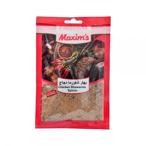 Maxims Chicken Shawarma Spices  - 50G 521501-V001 by Maxim's