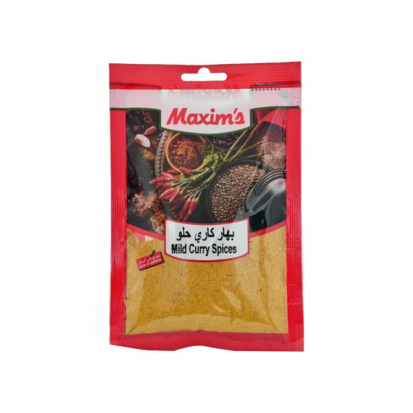 Maxims Curry Mild  - 50G 521507-V001 by Maxim's