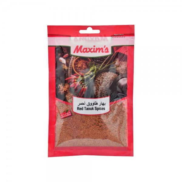 Maxims Red Tawook Spices  - 50G 521518-V001 by Maxim's