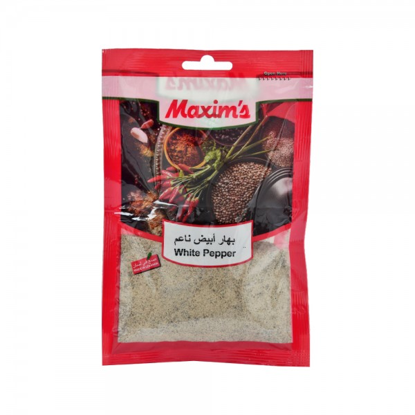 Maxim's White Pepper 50g 521519-V001 by Maxim's