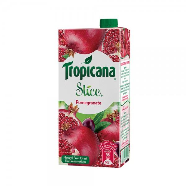 Tropicana Slice Pomegranate Tetra 1L 521617-V001 by Tropicana