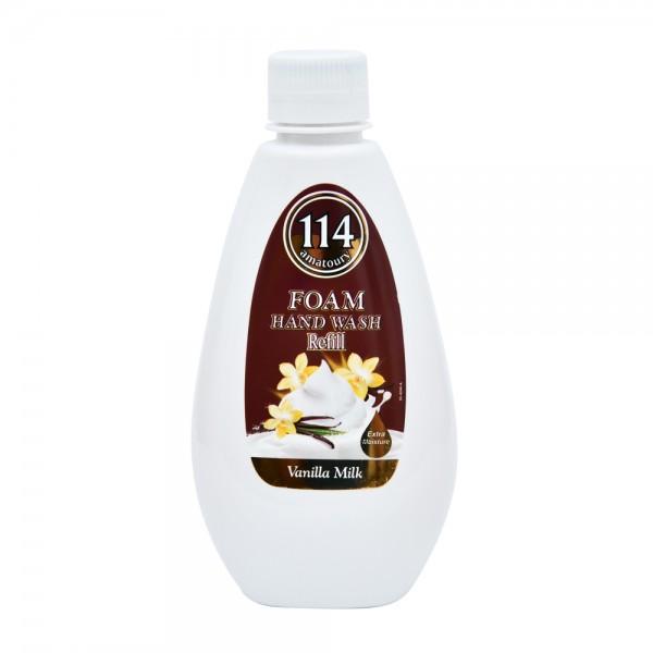 Amatoury 114 Foam Hand Wash Vanilla Milk Refill 300ml 521692-V001 by Amatoury 114