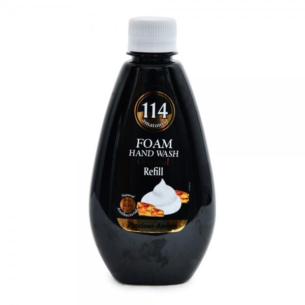 Amatoury 114 Foam Hand Wash Oriental Precious Amber Refill 300ml 521693-V001 by Amatoury 114