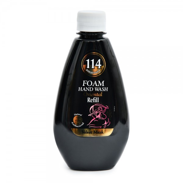 Amatoury 114 Foam Hand Wash Oriental Velvet Musk Refill 300ml 521699-V001 by Amatoury 114