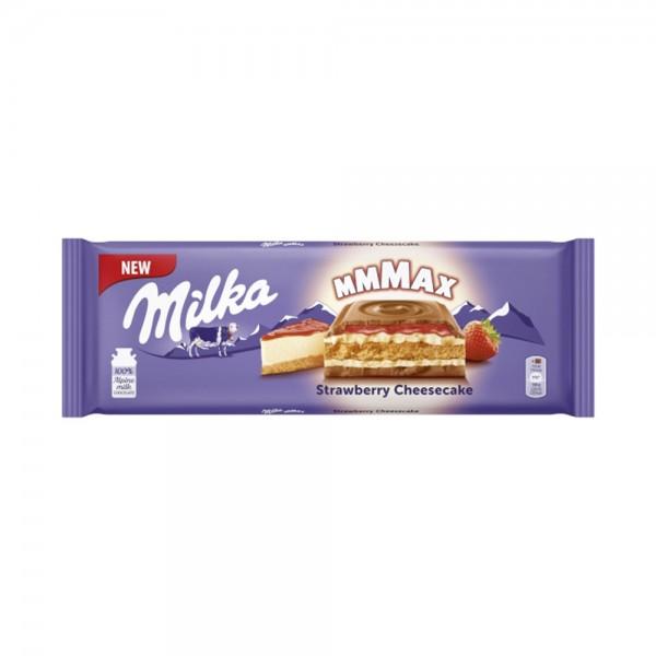 STRAWBERRY CHEESE BAR 521716-V001 by Milka