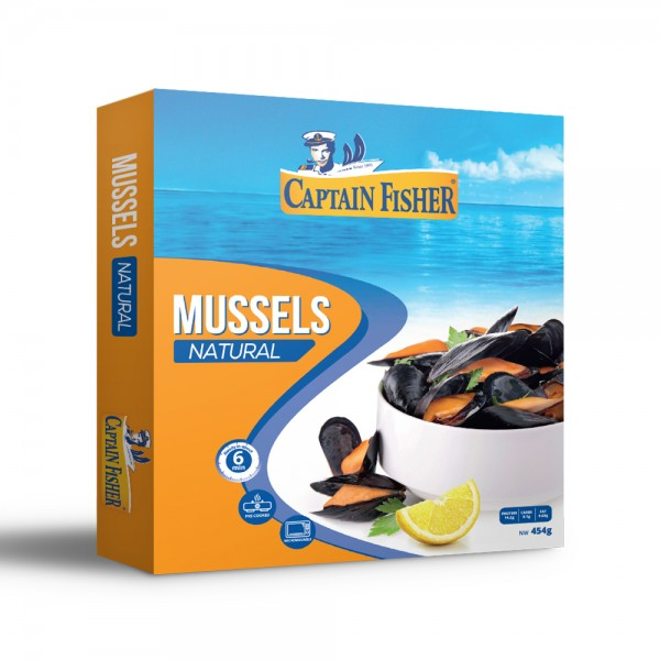 Captain Fisher Mussels Natural 521915-V001 by Captain Fisher