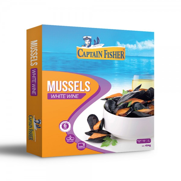 Captain Fisher Mussels White Wine 521916-V001 by Captain Fisher