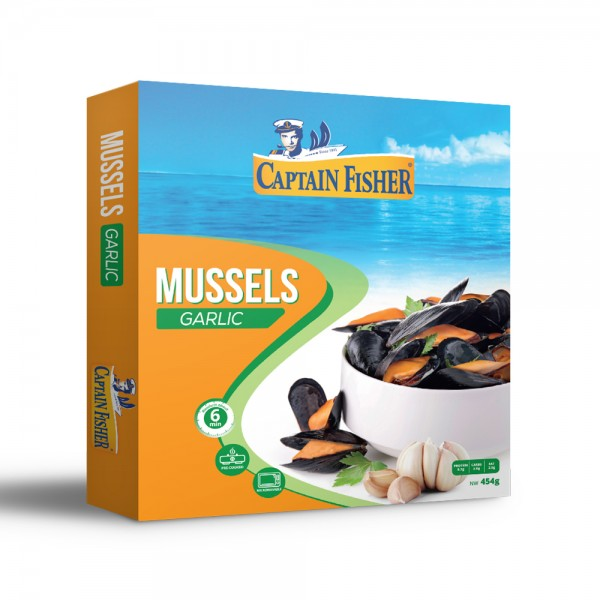 Captain Fisher Mussels Garlic Butter 521923-V001 by Captain Fisher