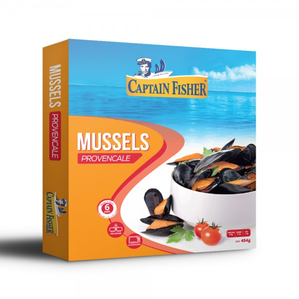 Captain Fisher Mussles Tomato+Garlic 521924-V001 by Captain Fisher