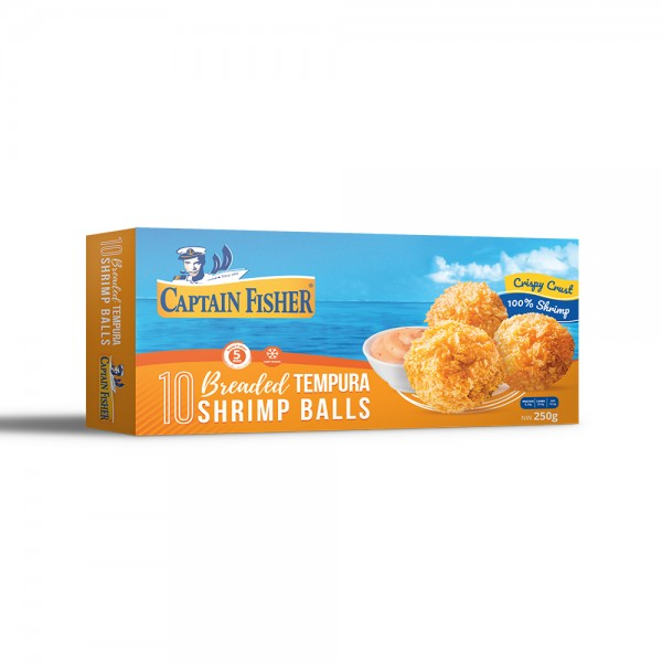Captain Fisher Shrimp Breaded Tempura Balls 521928-V001 by Captain Fisher