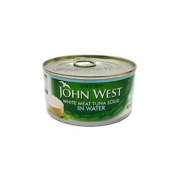 John West White Meat Tuna Solid In Water  - 170G 521977-V001 by John West