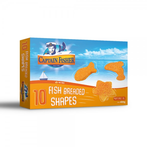 Captain Fisher Fish Breaded Shapes 522401-V001 by Captain Fisher